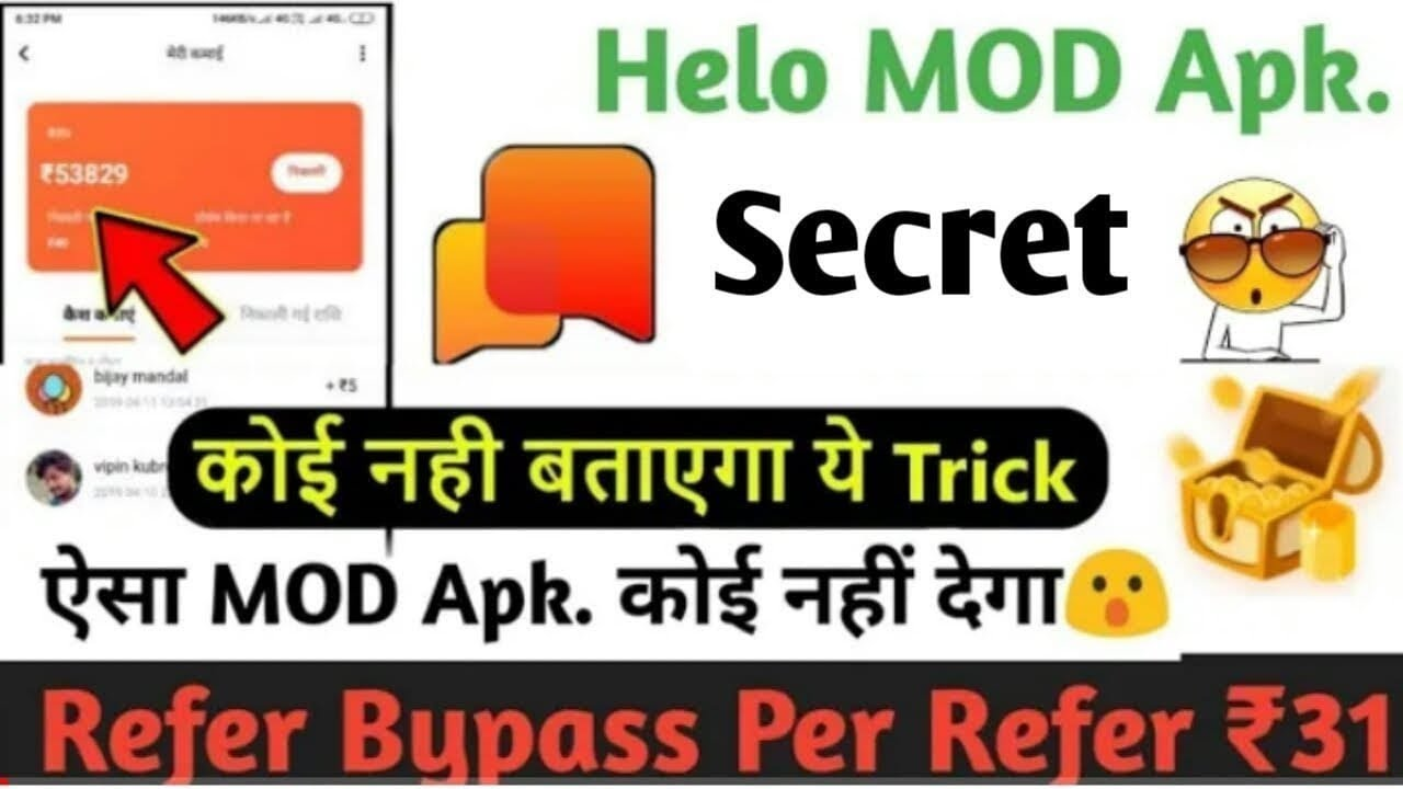 Hello app wallet hack|Hello app mod apk Live proof|Unlimited money 1sec  ₹1000
