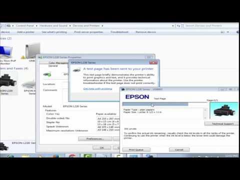 EPSON L220 Reset
