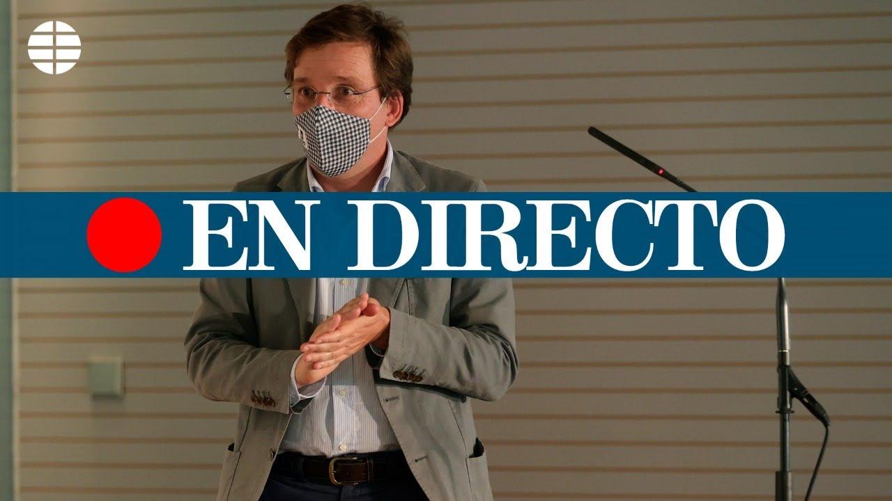 DIRECTO CORONAVIRUS | Almeida comparece tras las nuevas restricciones planteadas por Ayuso
