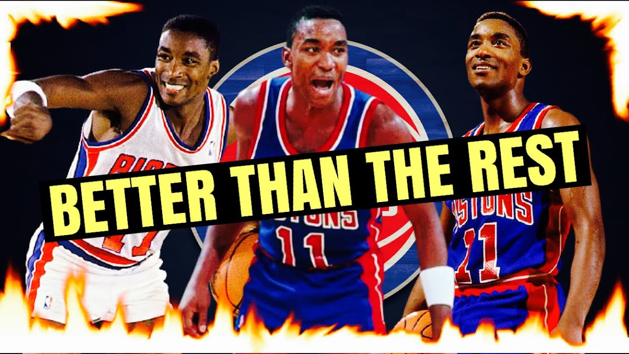Isiah Thomas is the 2nd Greatest Point Guard of All Time: HOT Take #1