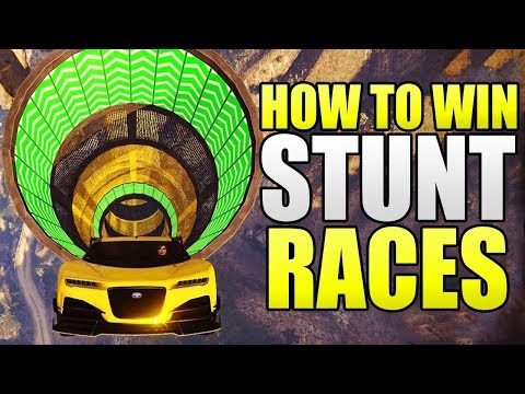 How To Win EVERY Stunt Race in GTA 5 Online! (Tips & Tricks)