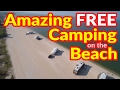 Full Time RV Living | Amazing FREE Camping on the Beach | S2 EP023