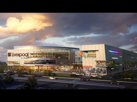 Retail Mall 3D CGI fly-through