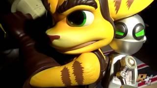 Présentation - Statuette Ratchet & Clank (GamingHeads)