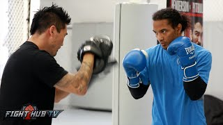 Henderson vs. Patricio Pitbull- Ben Henderson 's Complete Media workout video