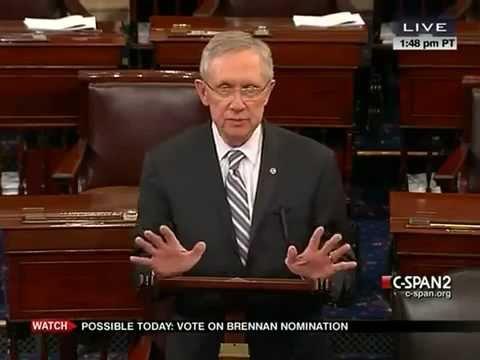 Harry Reid Fails To End Rand Paul's Filibuster of John Brennan's Nomination