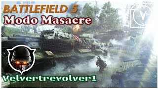 Battlefield™ 5 (PS4) Gameplay Multijugador Modo Masacre  a Francotirador y en Asalto
