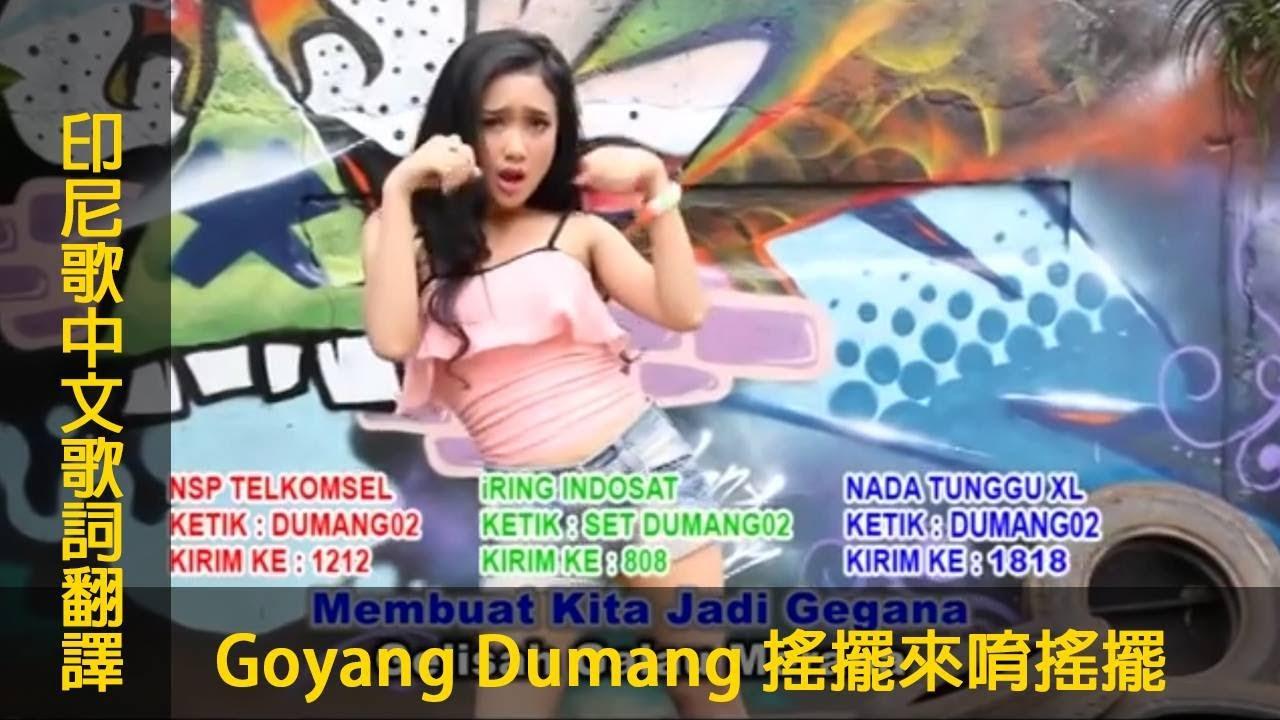 印尼歌曲【Goyang Dumang 搖擺來唷搖擺】中文歌詞翻譯 #chinese #mandarin#LyricVideo - YouTube