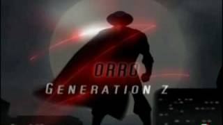 Amv - Zorro Generation Z sigla apertura italiana versione Tv [Enzo Draghi]
