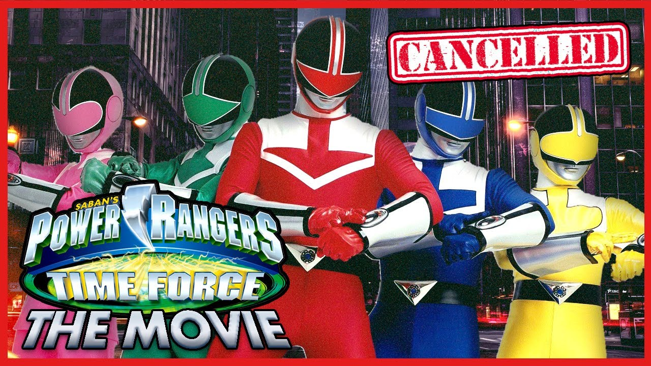 The CANCELLED Power Rangers Time Force MOVIE!