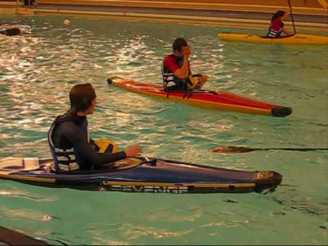 kayak polo skills