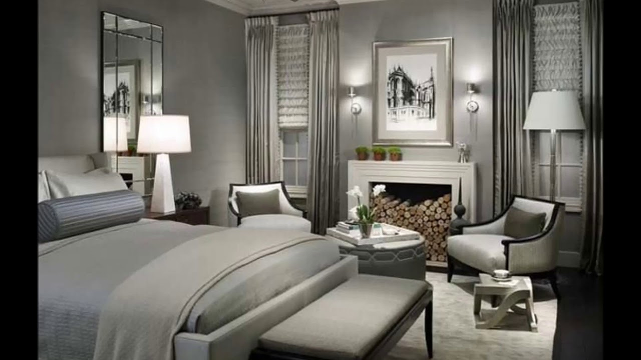 14 glamour silver bedroom designs