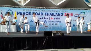 Tong Il Moo Do PEACE ROAD Thailand 2016