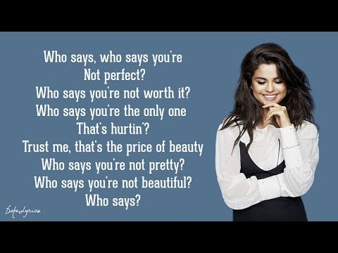 Selena Gomez & The Scene - Who Says (Lyrics) 🎵
