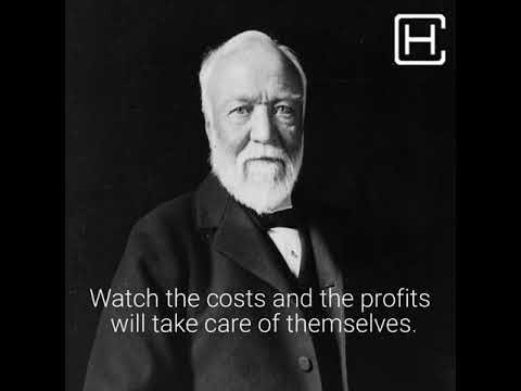 Andrew Carnegie quotes on life and success