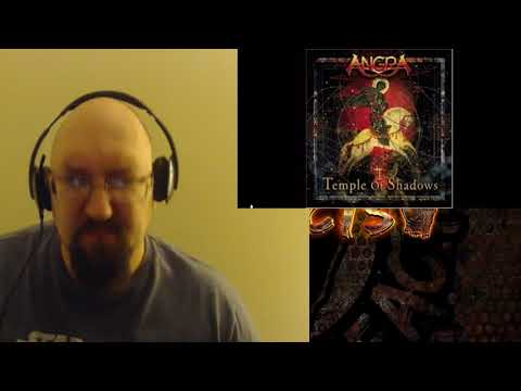 Angra Temple Of Hate Reaction. Killer Brazilian power metal.