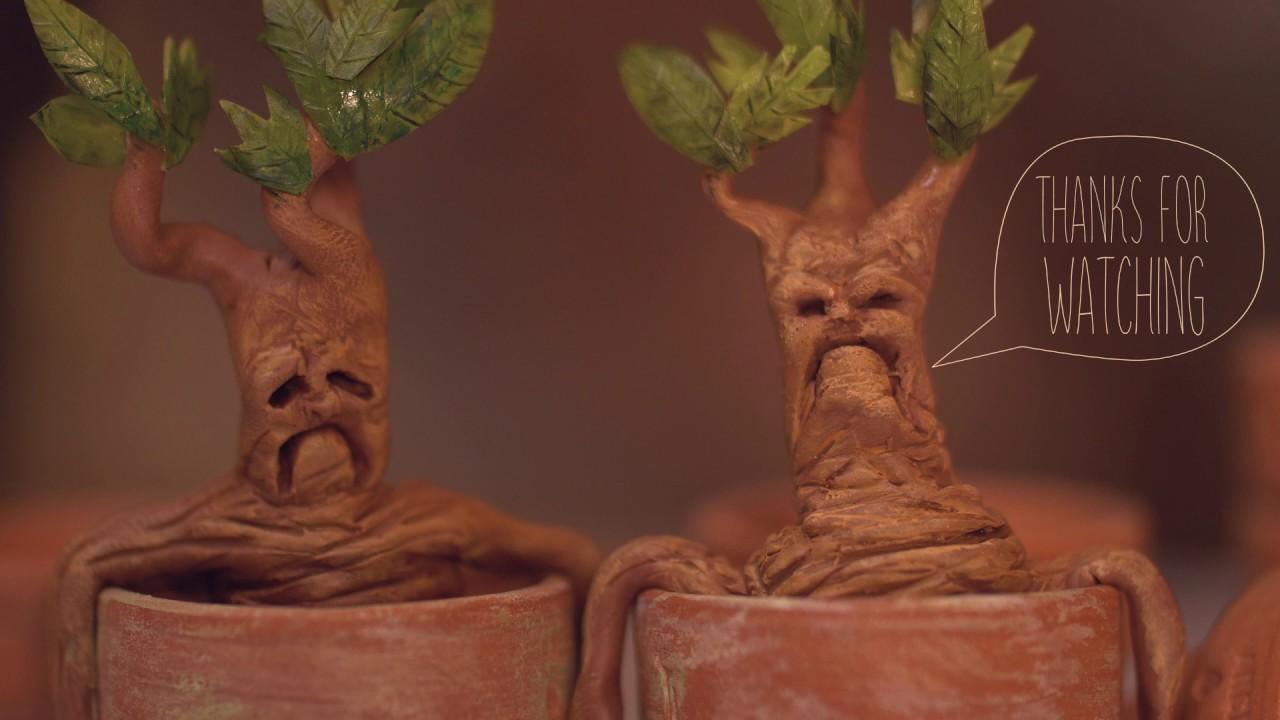 Diy Mandrakes From Harry Potter Tutorial Youtube