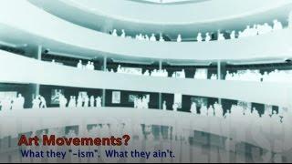 "A look at how art historians classify Modern art into ""movements."""