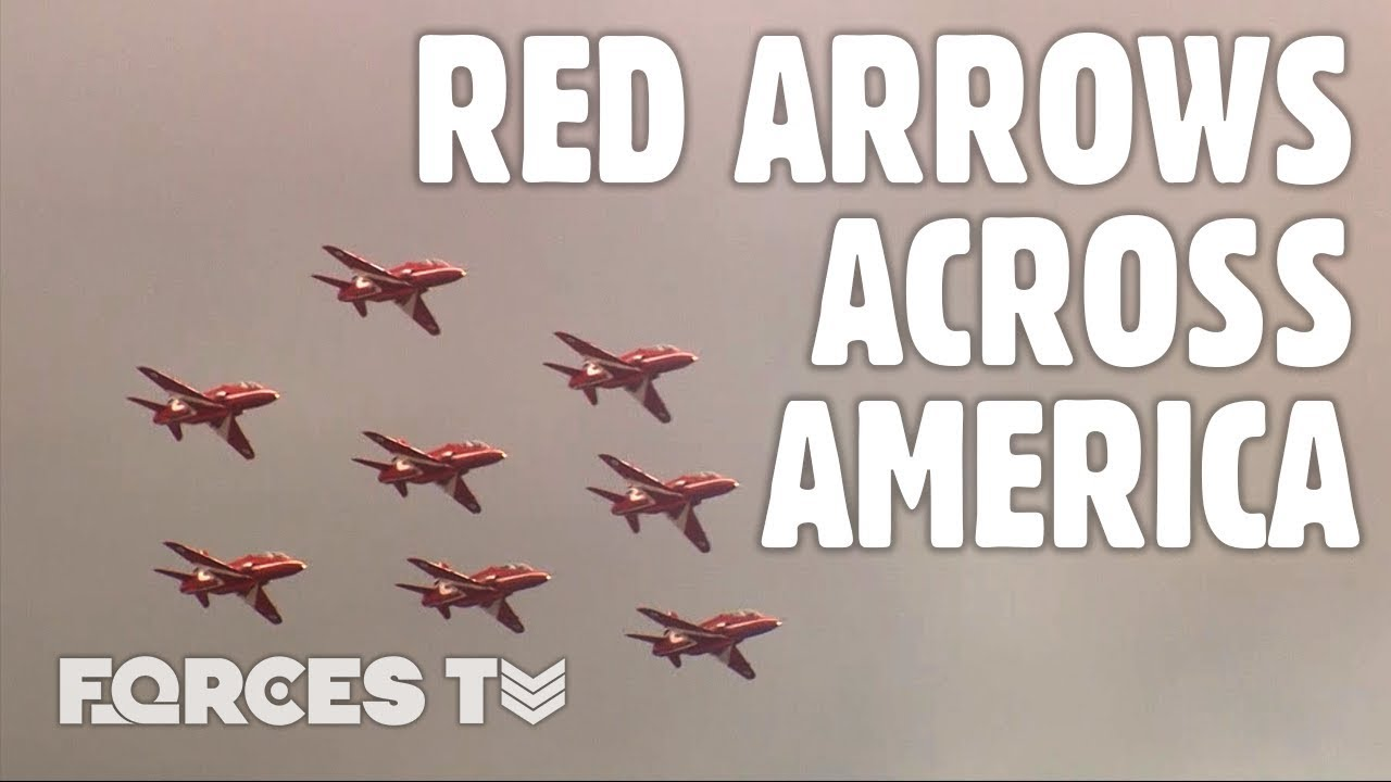 Red Arrows North American Tour 2019 • FULL DOCUMENTARY | Forces TV