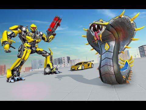 New Snake Transform Robot Games Ep-2 | Rescue City Transform Robot Android GamePlay | By Game Crazy