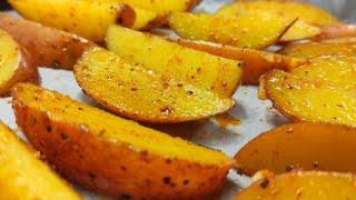 КАРТОФЕЛЬ по селянски по деревенски рецепт картошка запеченная в духовке Shorts