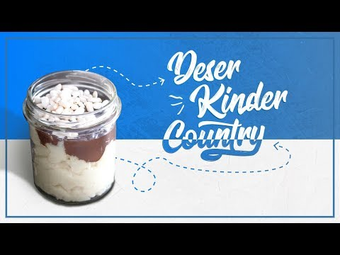 Deser Kinder Country - Jak Zrobić Zdrowy I Smaczny Deser Bez Białego Cukru?