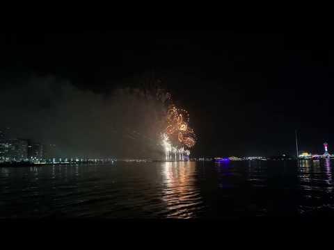 UAE National Day Firework Abu Dhabi 2nd Dec 2018