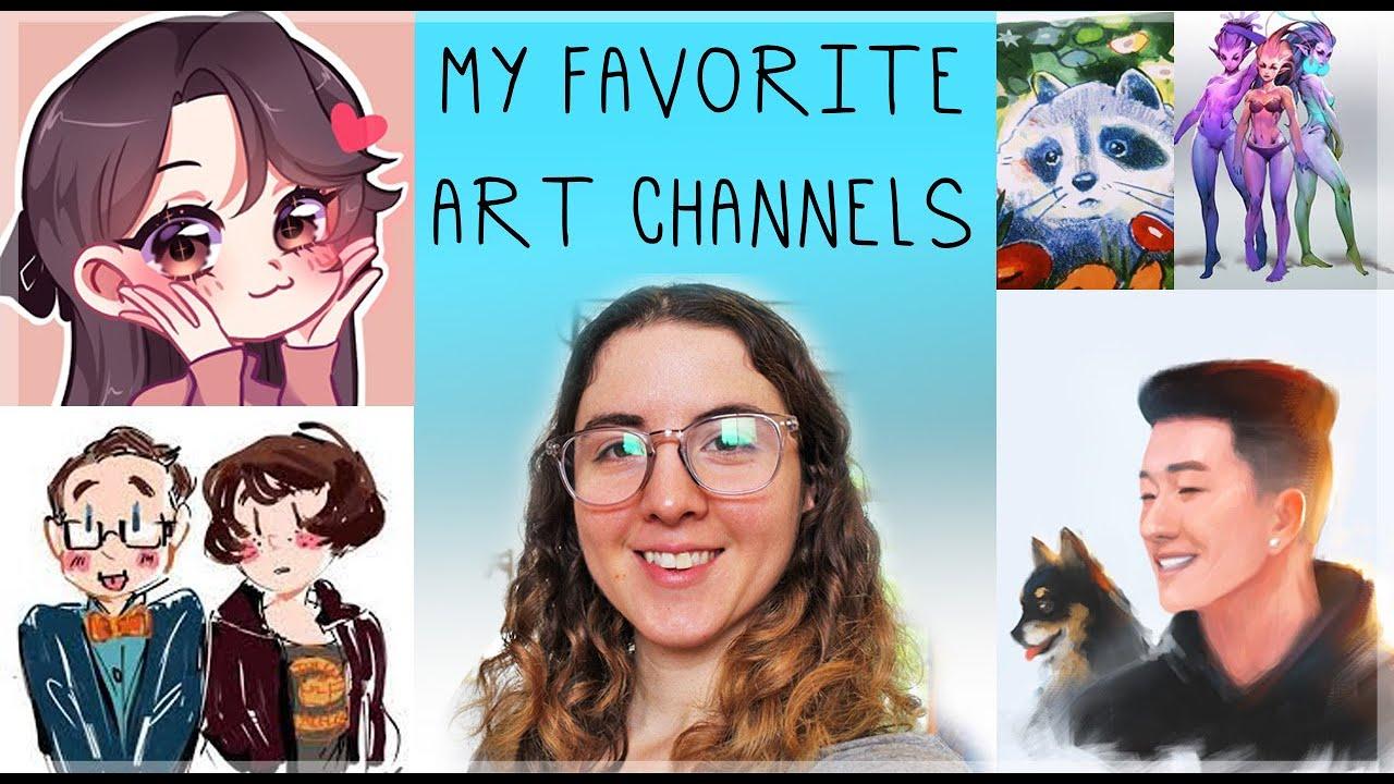 My 5 favorite Art Channels of 2021