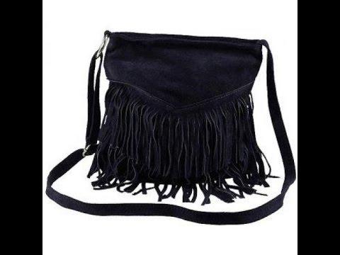 Как сшить сумку из замши своими руками