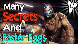Destiny: Secrets & Easter Eggs! (Bet You Didn