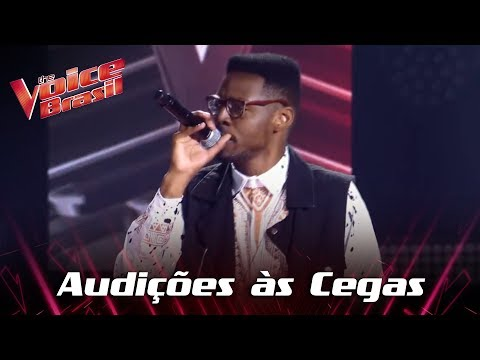 "Kevin Ndjana canta ""Uptown Funk"" nas Audições às Cegas - The Voice Brasil | 7ª temporada"