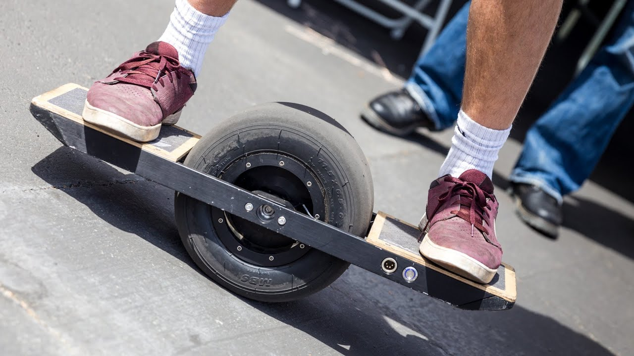 Hands On With The Onewheel Electric Skateboard