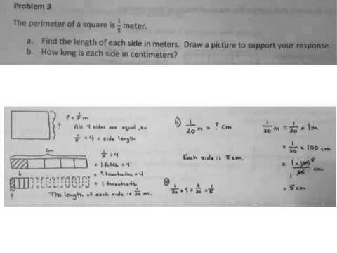 Grade 5 Module 4 Lesson 27 Homework Answer Key