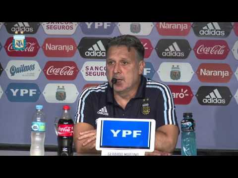Conferencia de prensa de Gerardo Martino STREAMING