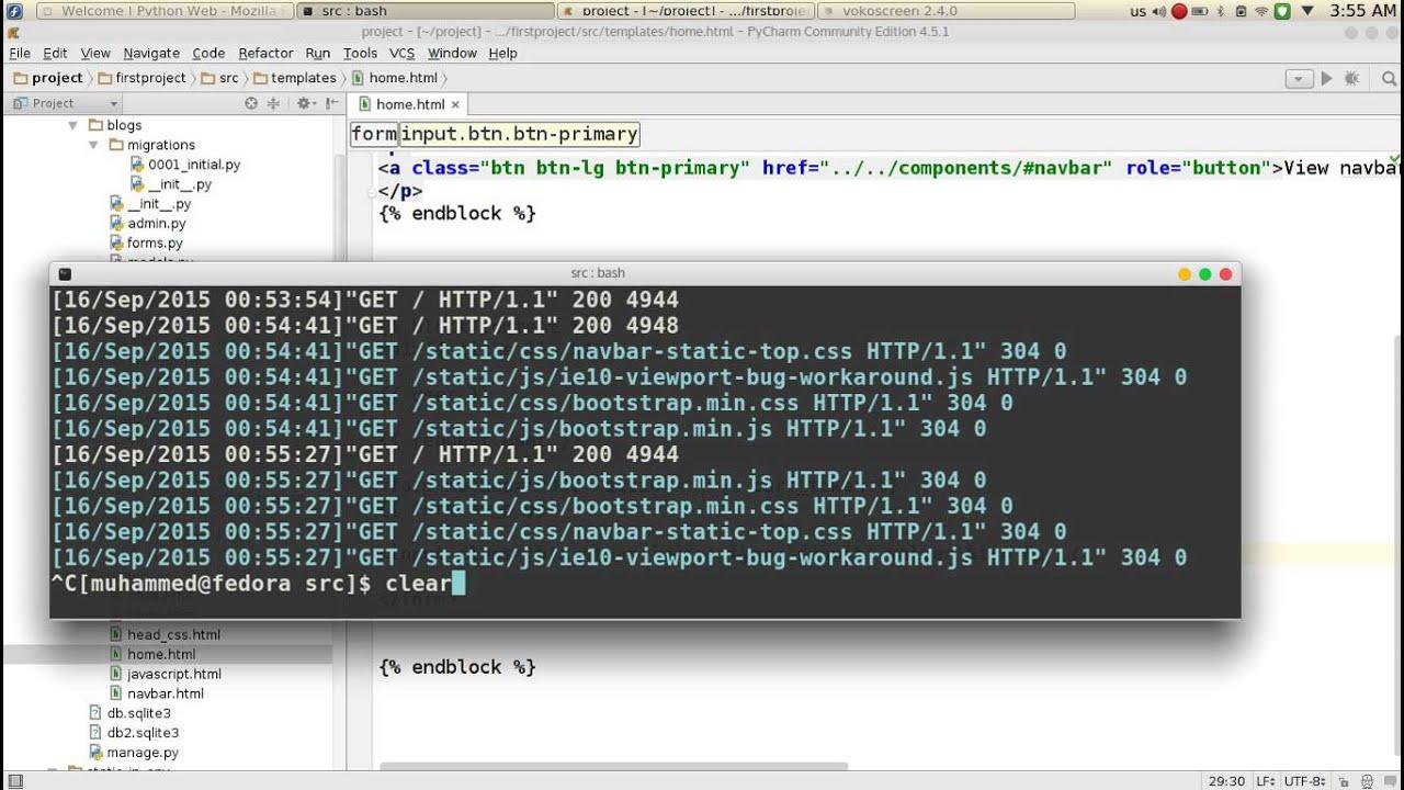 67 Python Web Django crispy forms - YouTube