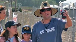 SUPER DAD Adam Sandler Takes Daughters Sadie And Sunny To The Malibu Fair