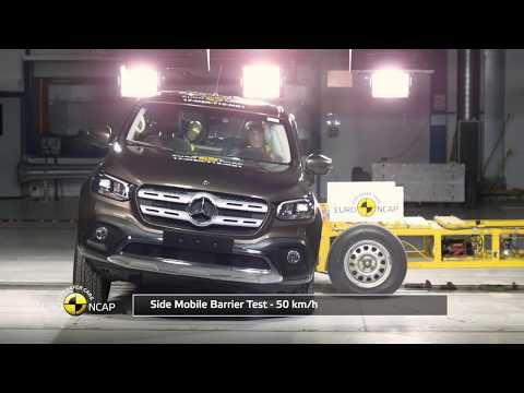 Euro NCAP Crash Test Of Mercedes-Benz X-Class