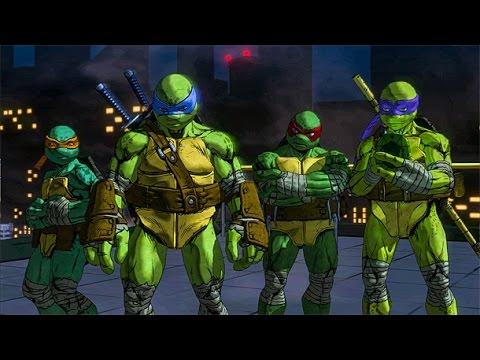 Extended Gameplay From Platinum Games' Teenage Mutant Ninja Turtles: Mutants In Manhattan