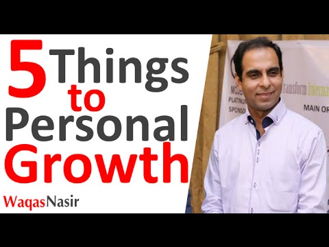 5 Things To Personal Growth and Development -By Qasim Ali Shah | In Urdu