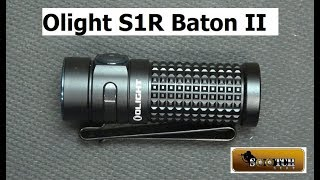 New Olight S1R II Baton 1000 Lumens!