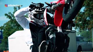 Introducing supermoto stunt rider Arttu Stenberg by Honda & Yoko Sports