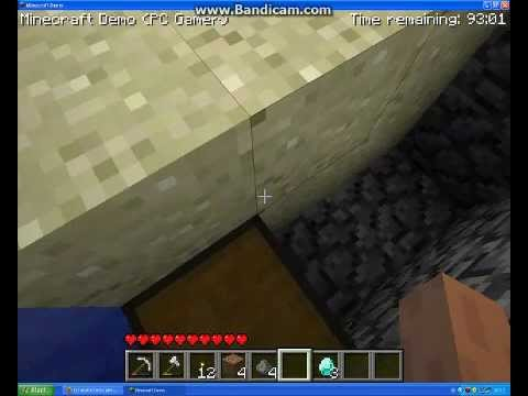 how to play creative mode in minecraft demo pc