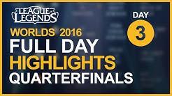 Worlds 2016 Highlights - Quarterfinals: ROX Tigers vs EDward Gaming