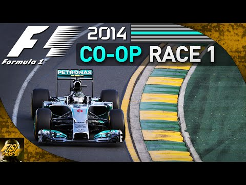 F1 2014 | Co-op Championship REBOOT - Race 1 Australia (Live Commentary)