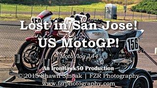 Lost in San Jose! - US MotoGP! | Iron 883 | MotoVlog 144