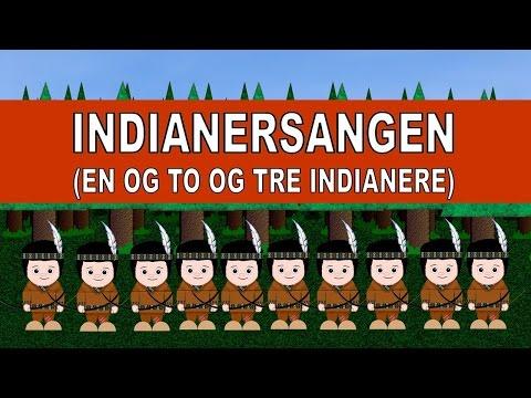 Indianersangen En og to og tre indianere