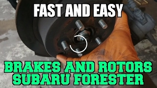 Rear brake pads Subaru forester 2014