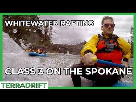 Whitewater Rafting On The Spokane River: Class 3 Rapids With Wiley E. Waters