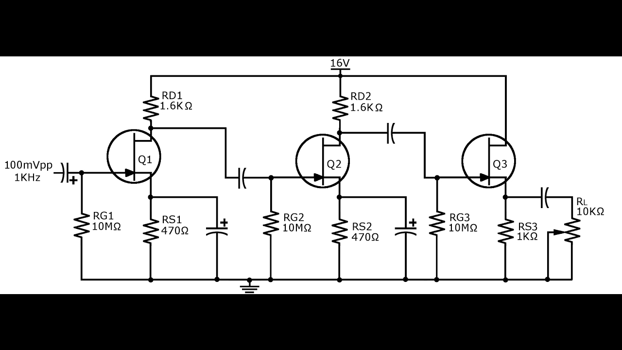 48  a multistage jfet amplifier
