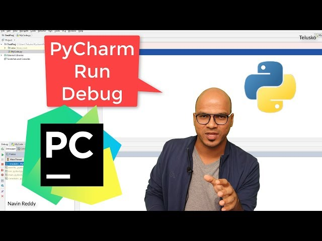 #17 Python Tutorial for Beginners | Working with PyCharm | Run | Debug | Trace | py file